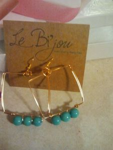 Le Bijou earrings