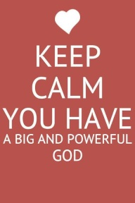 big & powerful God