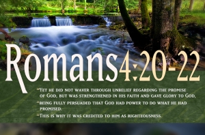 Bible-Verses-On-Faith-Romans-4-20-22-Waterfall-Landscape-HD-Christian-Wallpaper