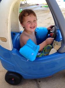 kade in car