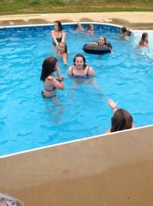 pool kids
