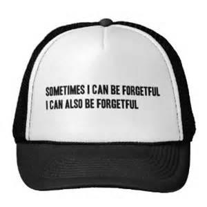 forgetful zazzle