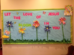Let the Love of Jesus bloom in you