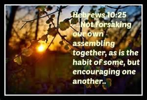 not forsaking
