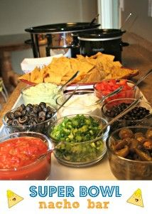 superbowl nacho bar