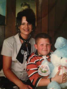 One last Easter throwback with my eldest & his big ol Easter Bunny circa 1999.