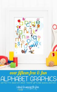 free alphabet printable