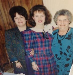 Mama, Me, & Mamaw 1990
