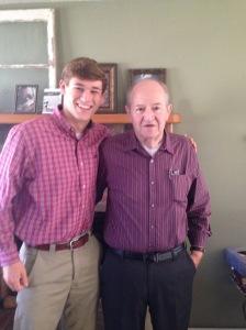 Thanksgiving dad & jw