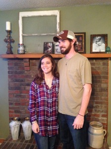 Newlyweds on Thanksgiving