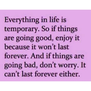 Can't last forever